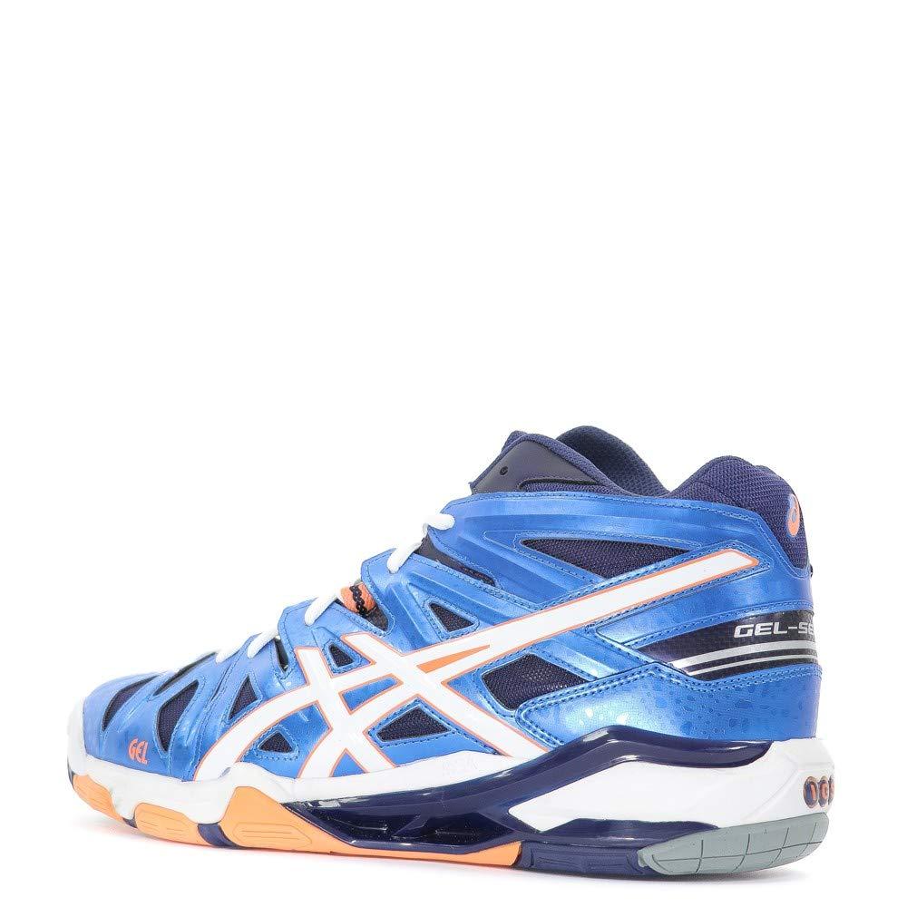 Blue and shades of blue Asics Gel Sensei 5 MT B401Y 4101 44
