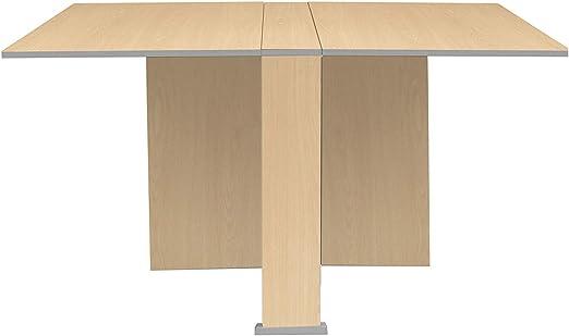SUÁREZ Swing Mesas, Madera manufacturada, Haya, 174_134,2 x 80 x ...