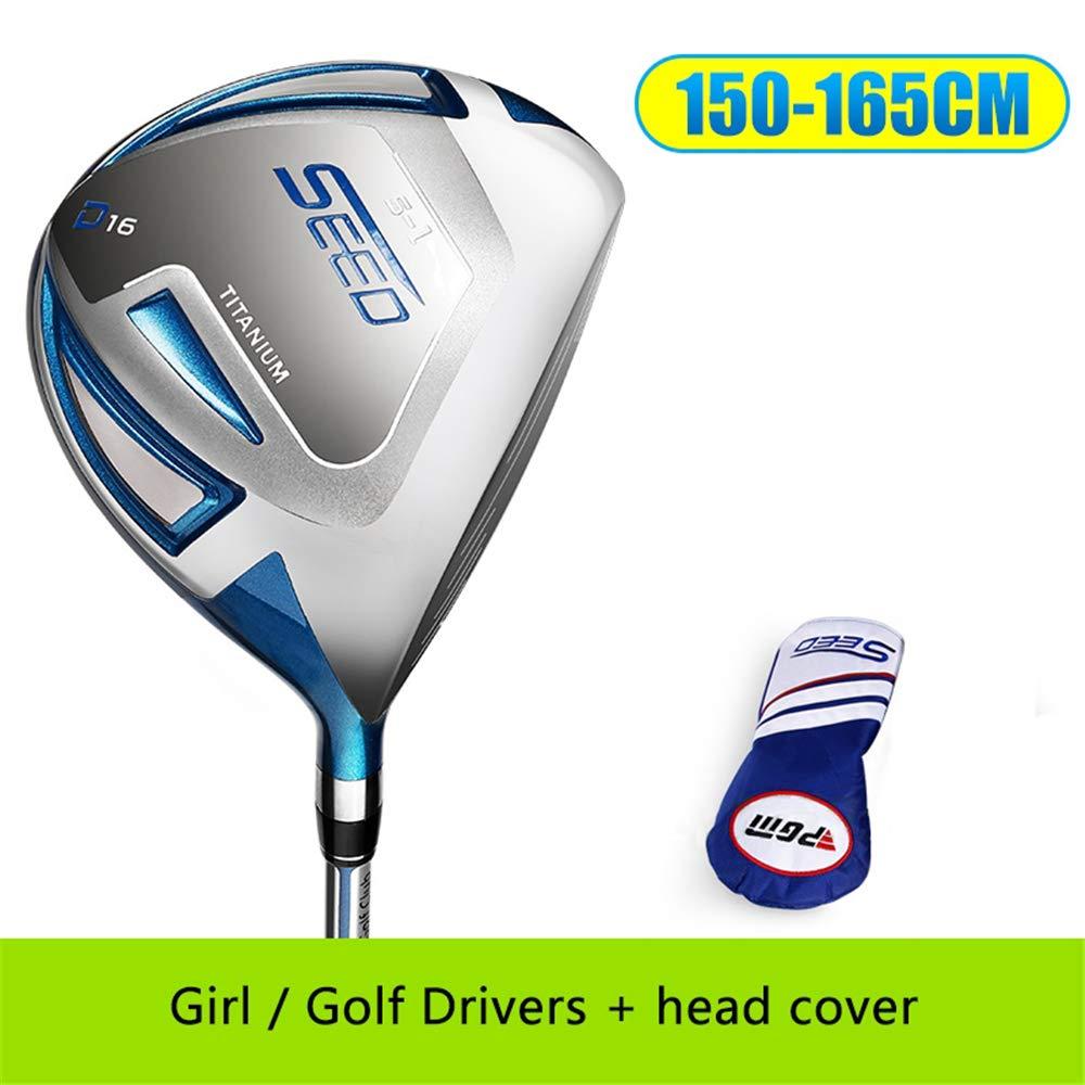 ゴルフクラブ男子ゴルフドライバー、右利き用1#ウッズ、ヘッドカバーグラファイトシャフト FOR(150-165CM)  B07PLL6C6Q