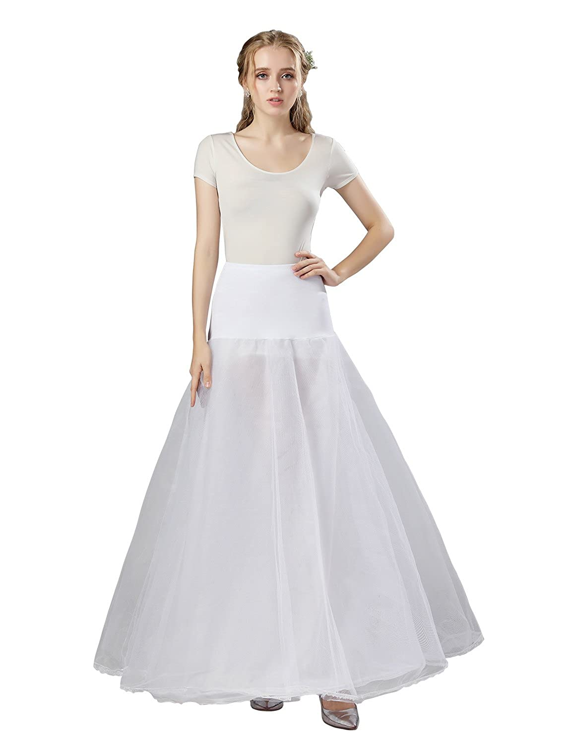 Clearbridal Womens White Wedding Petticoats Underskirt for Party Ball Gown: Amazon.co.uk: Clothing