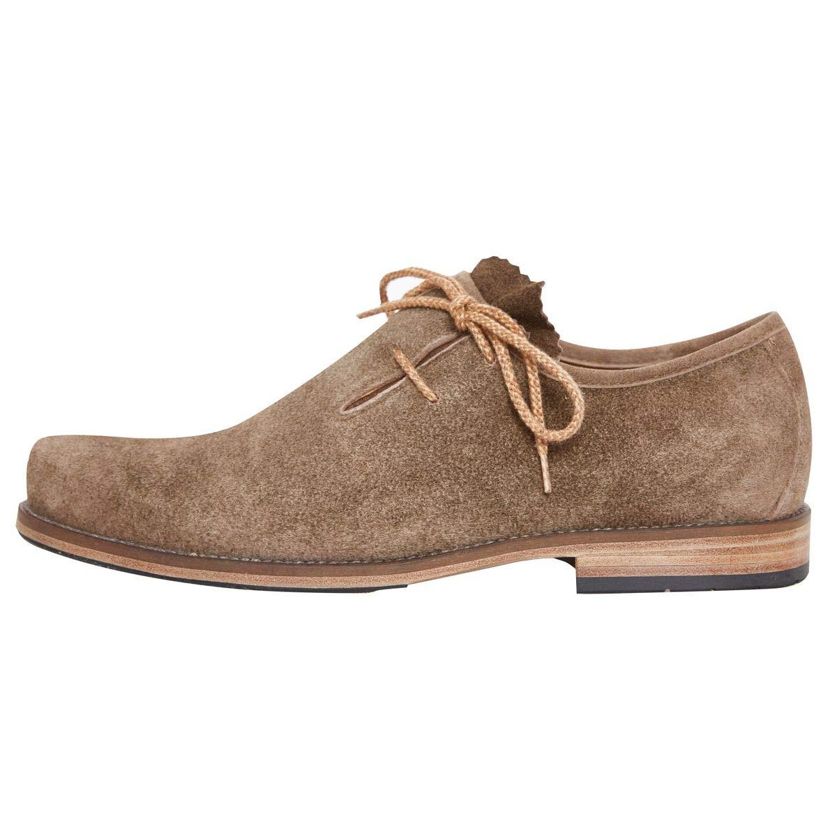 59f44bdc808578 dirndl + bua Herren Trachten-Schuhe Haferlschuh Josef in Beige: Amazon.de:  Schuhe & Handtaschen