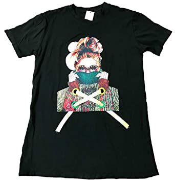 fa5b29b8058 Clothing Trader Womens Ladies Casual Designer Inspired Ribbon Bead T-Shirt  Dress  Amazon.co.uk  Clothing