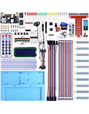 BONROB Raspberry Pi Starter Learning Kit with GPIO Expansion Board LCD RGB, Breadboard Infrared Remote Control For Raspberry Pi 3B +, 3B, 2B a + Zero BS002