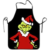 How The Grinch Stole Christmas Apron With Black Border