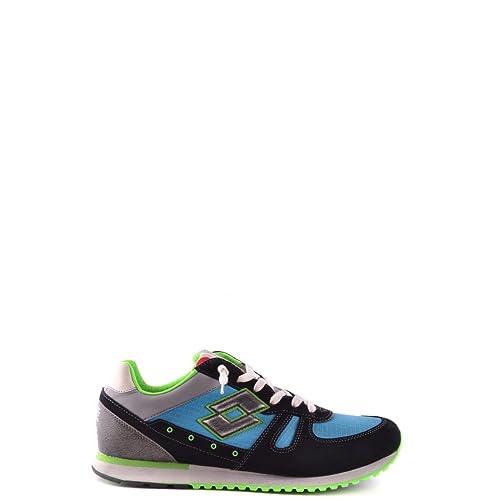 Sneakers nn229 Lotto Uomo Azzurro  Amazon.it  Scarpe e borse 97cc22cf16d