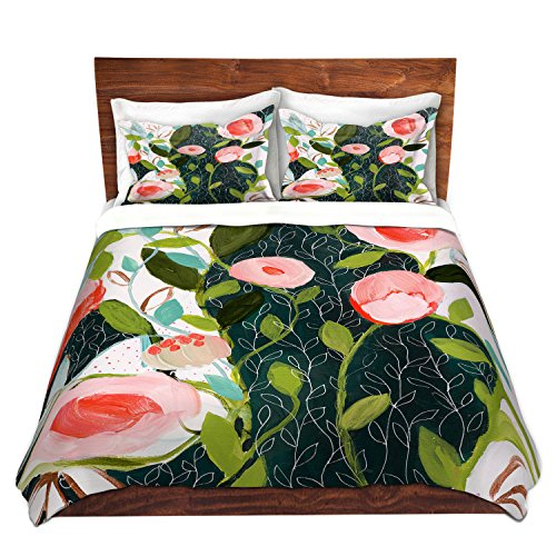 DiaNoche Designs Microfiber Duvet Covers Carrie Schmitt - Julies Faith by DiaNoche Designs