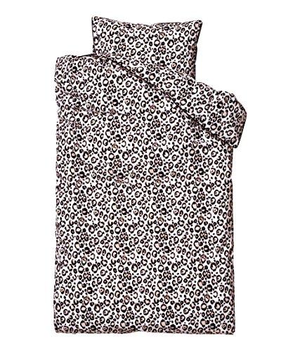 Duvet Cover Set Wild Nature Exotic Animal Print Bedding Jungle Safari Zebra Cheetah Leopard Giraffe Tiger 100% Cotton (Snow Leopard, Twin) (Twin Zebra Duvet Cover)