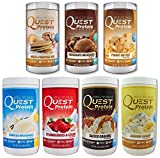 Quest Nutrition Quest Protein HndHlt Powder, One of Every Flavor (7 Total) 2lb Tub (1 of Each)