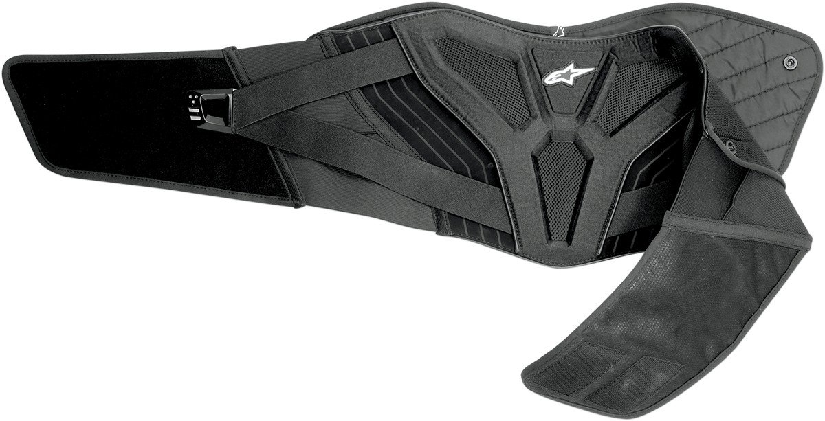 Alpinestars Touring Kidney Belt (Black, Small/Medium)