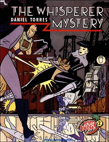 The Whisperer Mystery (The Astral Adventures of Rocco Vargas, 2)