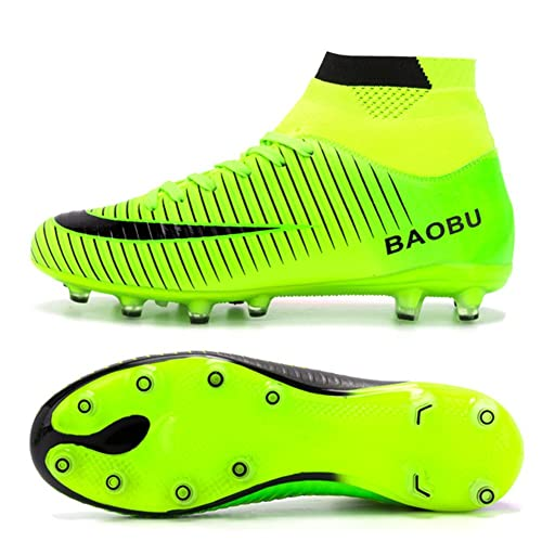34065d6e0b93a BAOBU AG Spike Botas de fútbol Profesional Zapatos de Fútbol para Hombre   Amazon.es  Zapatos y complementos