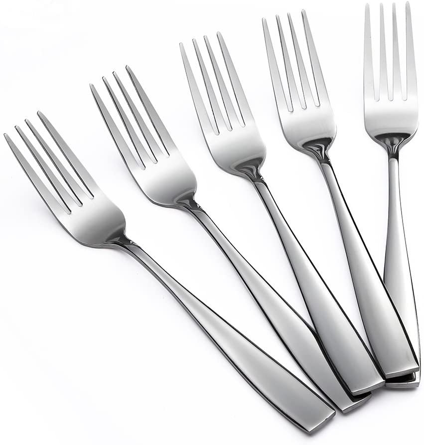 Eslite Stainless Steel Dinner/Salad Forks Set,24-Piece,8 Inches