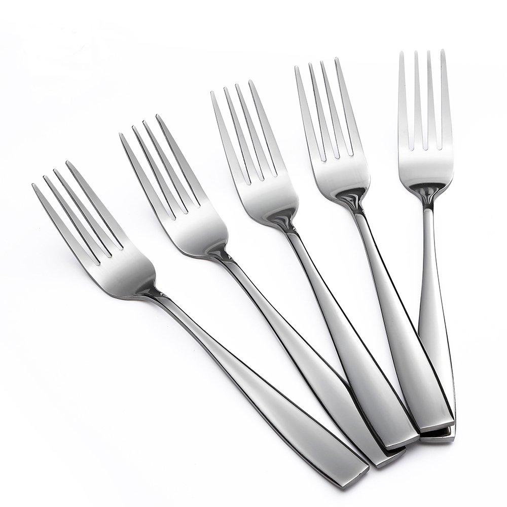 Eslite Stainless Steel Dinner/Salad Forks Set,12-Piece,8 Inches