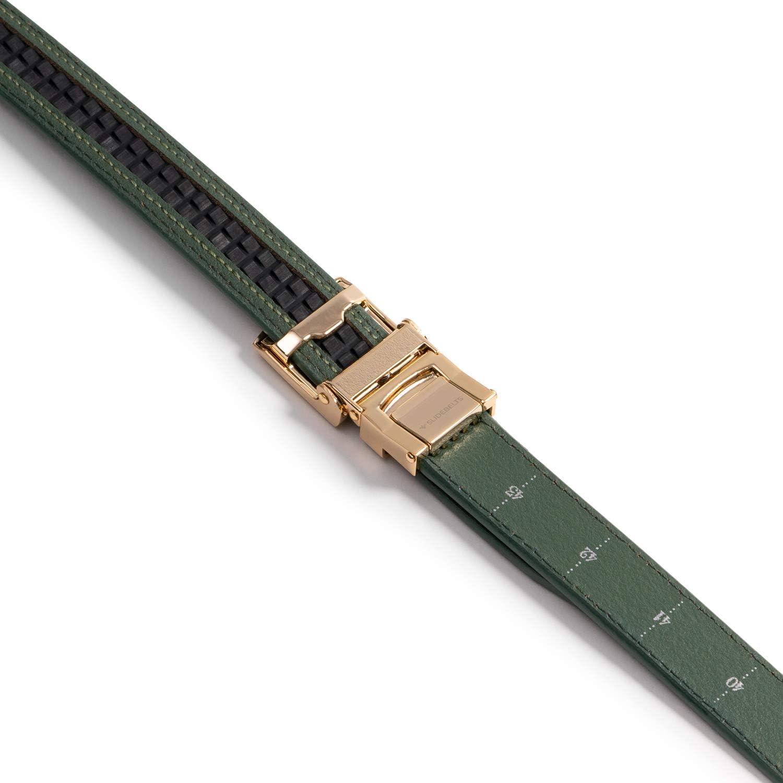SlideBelts Womens Skinny Ratchet Belt