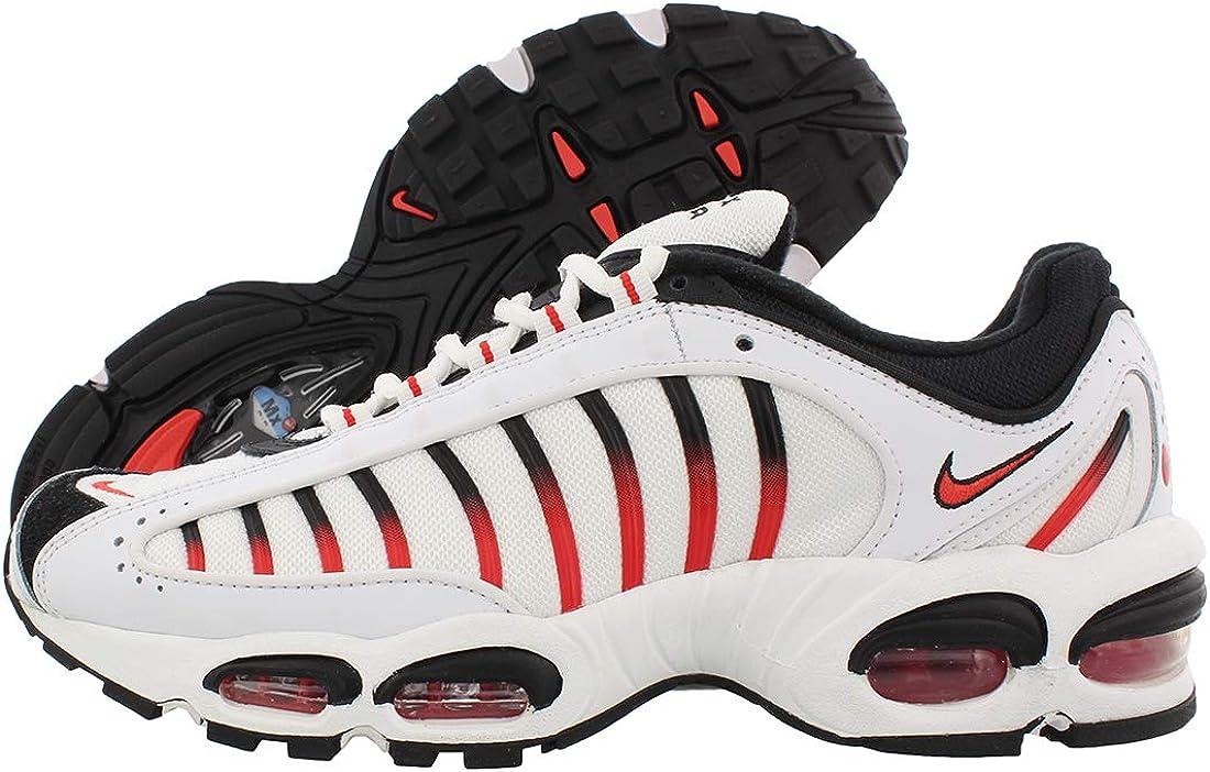 Nike Air Max Tailwind IV AQ2567-104 para hombre, color blanco y rojo, Blanco (Blanco/Rojo Habenero-Negro), 41 EU: Amazon.es: Zapatos y complementos