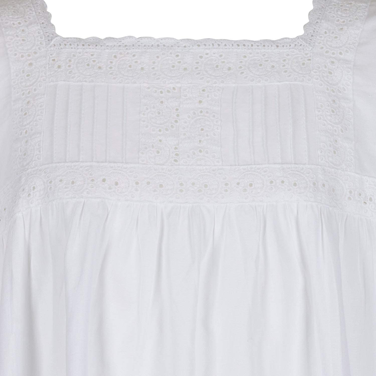 The 1 for U Girls Nightie 100/% Cotton Vintage Victorian Style Age 4-14