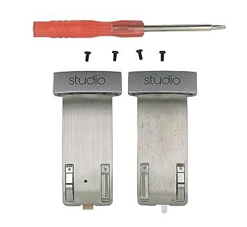 Studio 2.0 - Kit de Tornillos de Repuesto para Diadema y Conector de Repuesto para Auriculares Beats Studio 2.0 con Cable, inalámbricos: Amazon.es: ...