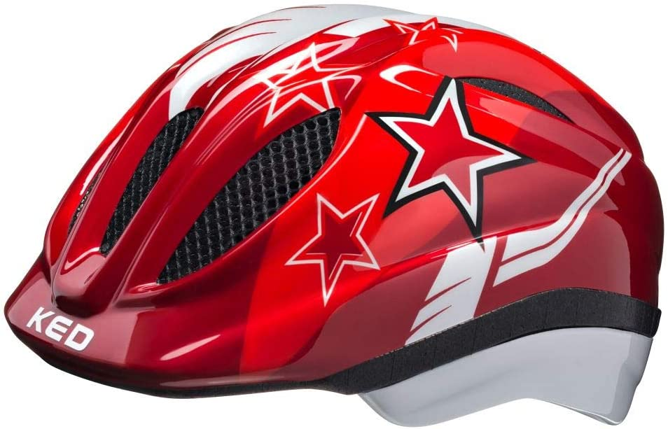 color azul Casco de bicicleta para ni/ños dise/ño de estrellas KED Meggy Blue Stars 2020