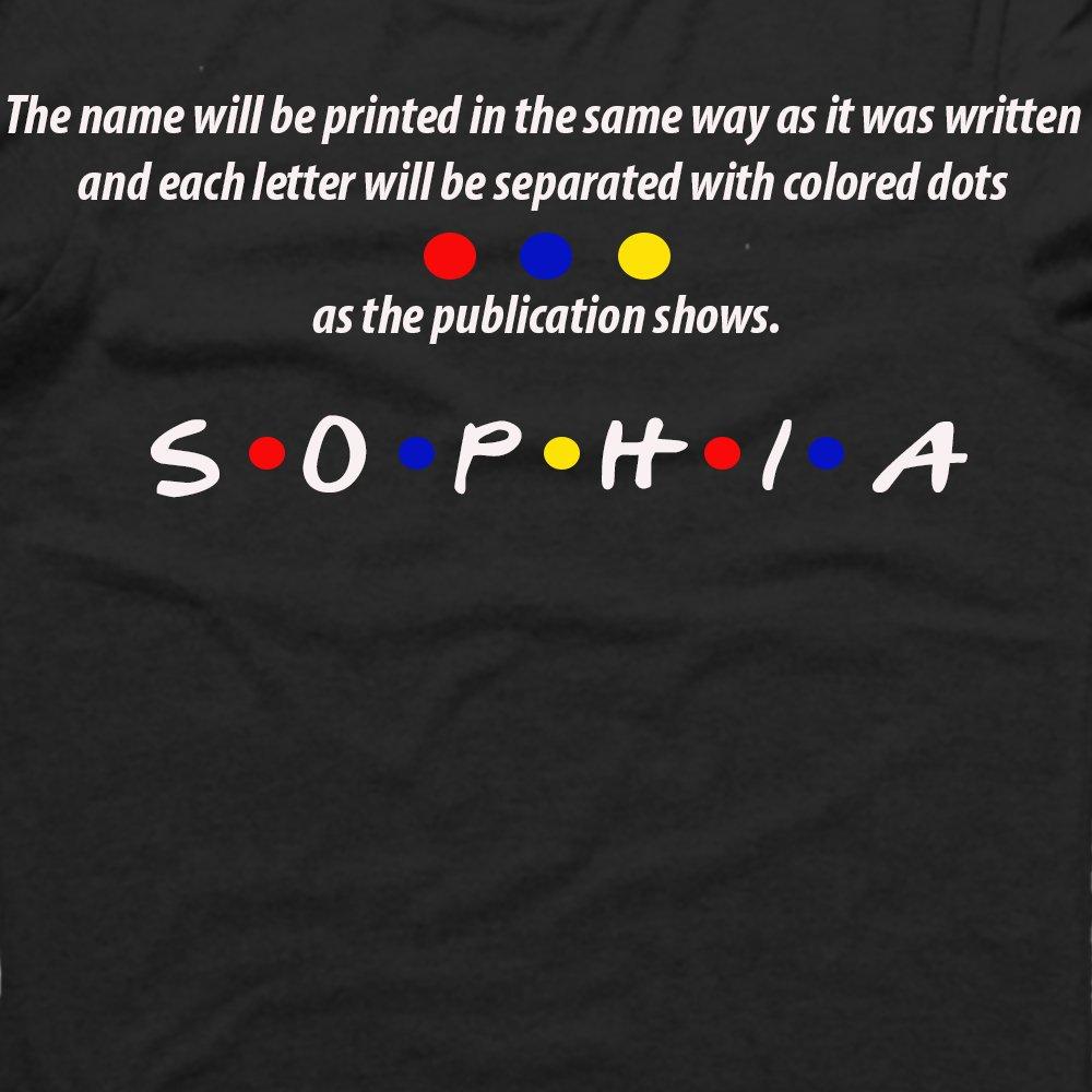 Amazon com: Custom T-Shirt, Friends TV Show, T-Shirt, Design