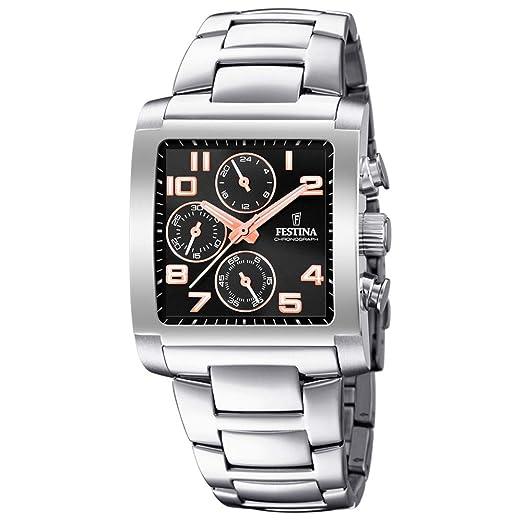 Amazon.com: Festina F20423/7 - Reloj cronógrafo de cuarzo ...