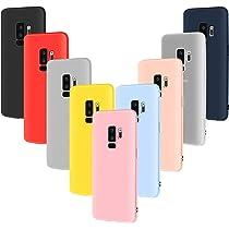 9X Funda Silicona para Galaxy S9 Plus, Leathlux Carcasa [No es para Samsung Galaxy S9] Cover para Samsung Galaxy S9 Plus: Amazon.es: Electrónica