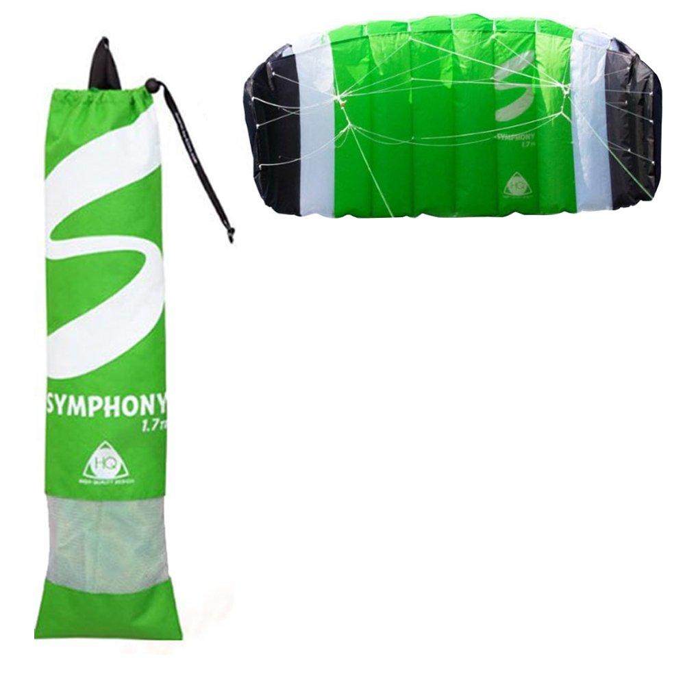Outdoor - Symphony Tr Ii 1.7 Kite R2f - Green by HQ Kites & Designs U.S.A., Inc