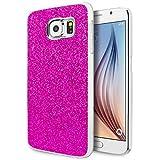 Galaxy S6 Case, Cimo [Glitz] Premium Glamour Glitter Bling Hard Case for Samsung Galaxy S6 (2015) - Purple