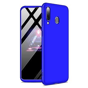 Funda Samsung Galaxy A30 / A20 360°Caja Caso + Vidrio Templado Laixin 3 in 1 Carcasa Todo Incluido Anti-Scratch Protectora de teléfono Case Cover para ...