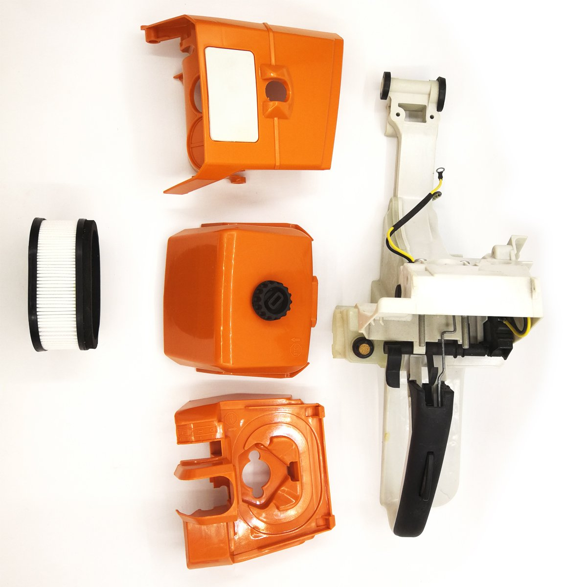 Gas Fuel Tank Rear Handle with Air Filter /& Cover Base for STIHL MS440 044