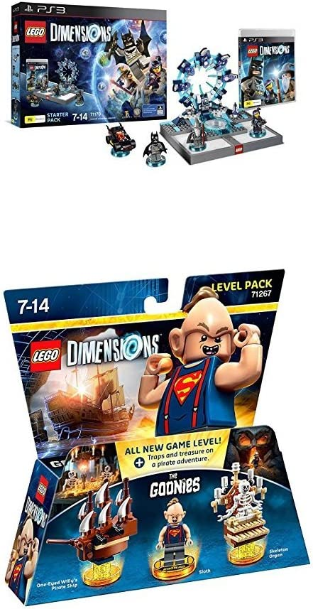 LEGO - Starter Pack Dimensions (PS3) + Goonies (Level Pack): Amazon.es: Videojuegos