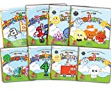 Preschool Prep Company Book Pack (Meet the Letters Lift the Flap,Meet the Numbers Lift the Flap,Meet the Shapes Lift the Flap, Meet the Colors Lift ... the Shapes Board Book, Meet the Colors Board)
