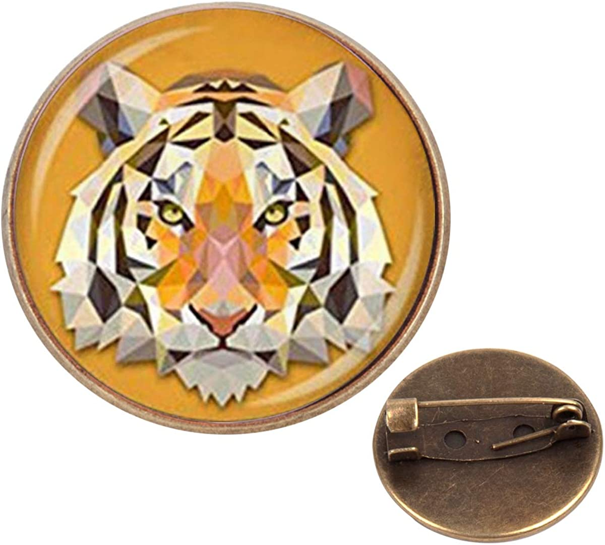 decorative gold stick pin Vintage gold tone mushroom scarf or hat pin