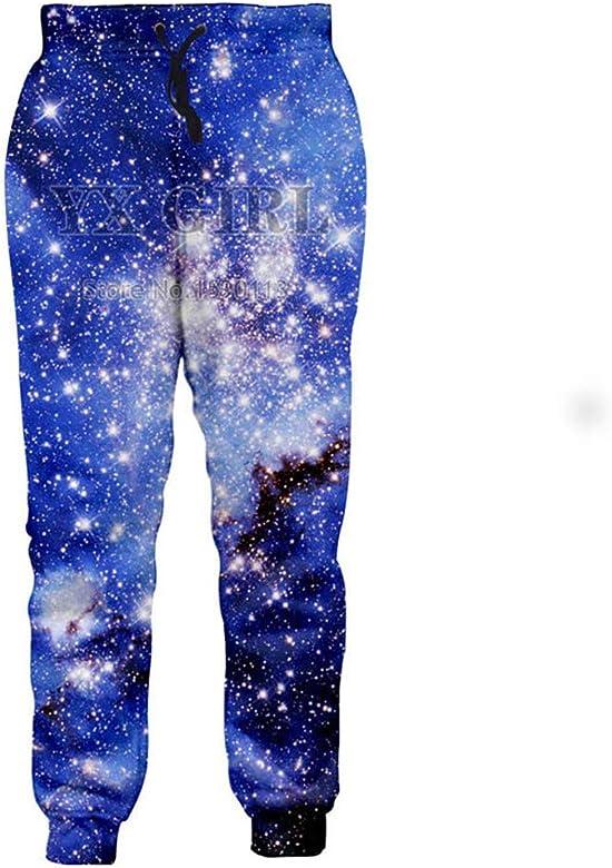 Pantalones de chándal de Estampado de Dibujos Animados de Starry ...