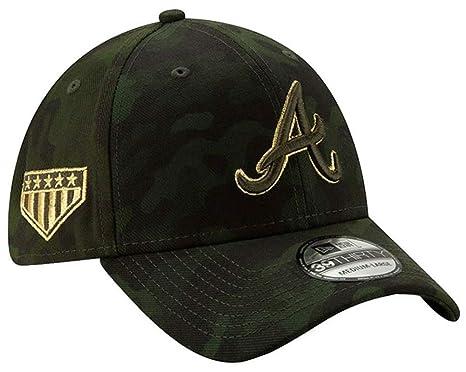 ba3148659c8f17 New Era 2019 MLB Atlanta Braves Hat Cap Armed Forces Day 39Thirty 3930 (S/