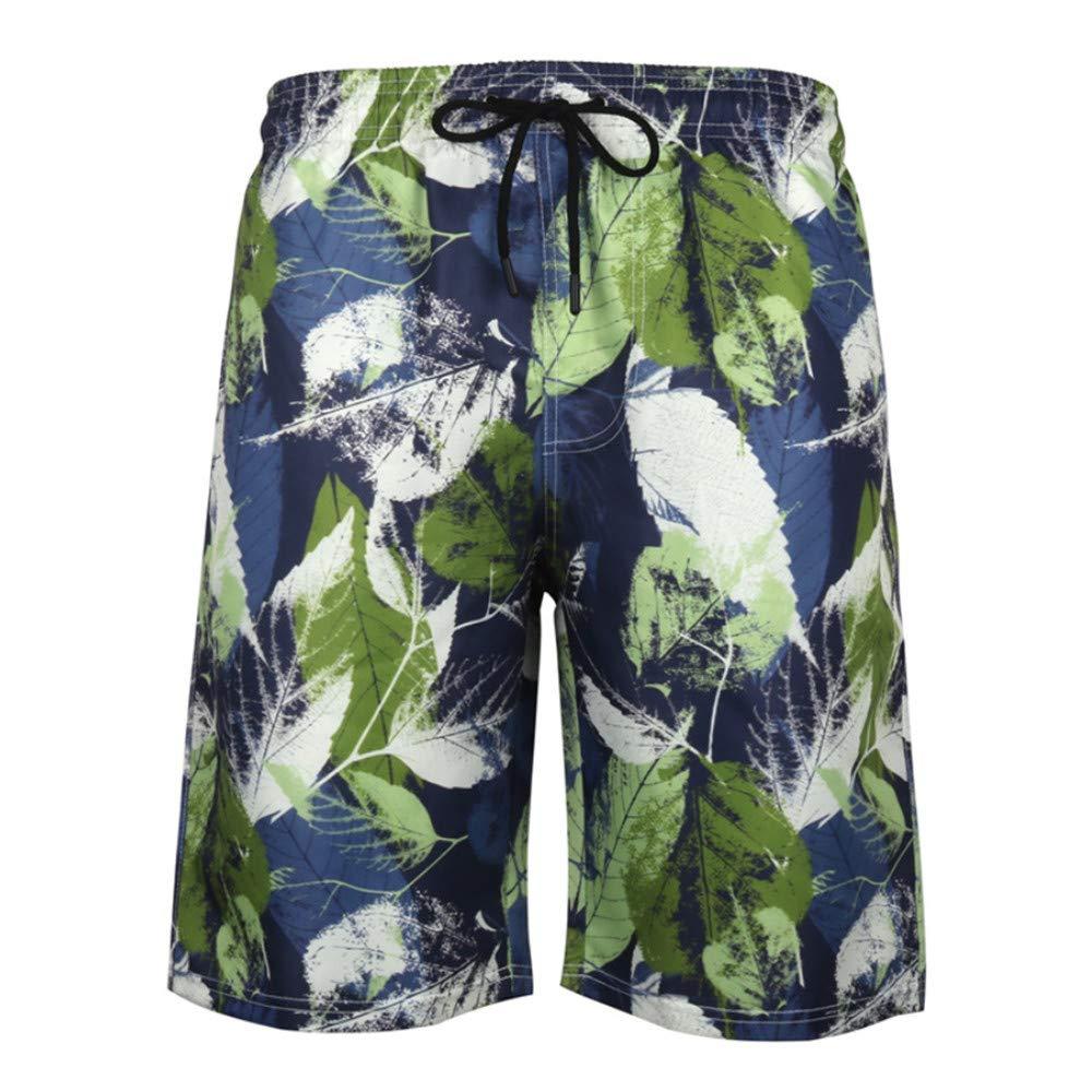 zbinbin Pantalones De Playa para Hombre De Secado Rápido Five ...