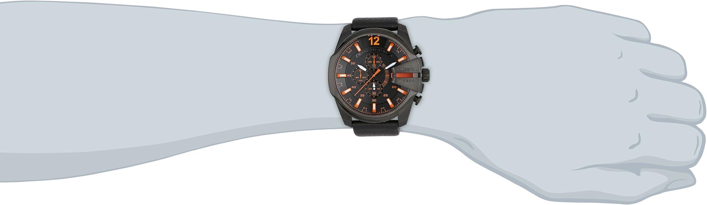 efd32ac21444 Diesel Mega Chief - Reloj de Cuarzo para Hombre