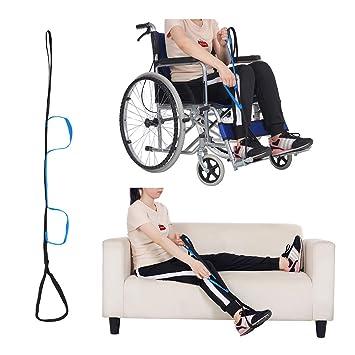 Levantador de muslos y piernas Correa de levantamiento de movilidad Ayudas levantar piernas de edad avanzada