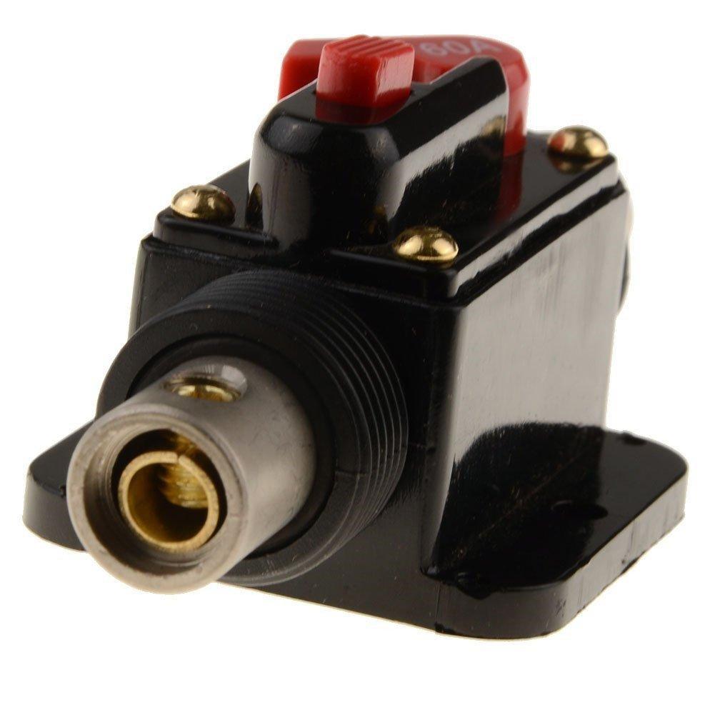 Rkurck Schutzschalter Solarwechselrichter Sicherungshalter 12/V 30/A Inline-Sicherungsblock f/ür Auto-Audio 24/V DC 100/A 150/A 20/A 80/A 60/A Systemschutz 50/A 40/A