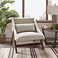 Ink+Ivy II100-0219 Melrose Accent Chair, 30.25 W x 33.75 D x 30.5 H, Brown