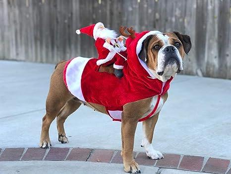 KETIEE Disfraz de Perro de Navidad, Ropa para Correr, Fiesta de ...