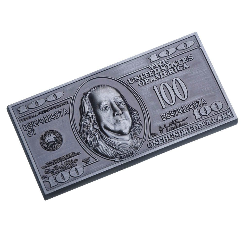 Amazon.com: ASFSouvenir Hundred Dollar Bill Souvenir Metal Fridge ...