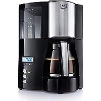Melitta 6613648 Optima Timer Kaffefiltermaskin, 850 W, 1,2 l, Svart