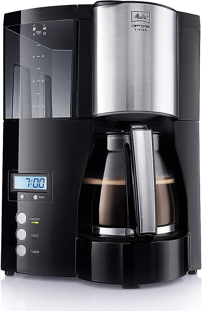 Melitta Cafetera de Filtro con Función Temporizador 100801