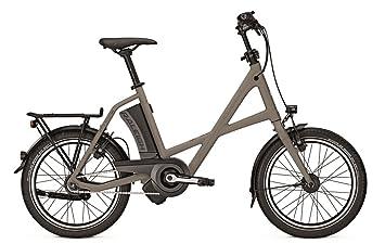 Raleigh Leeds R Compact contrapedal E-Bike bicicleta plegable 17 Ah Silvergrey Mate 2018,