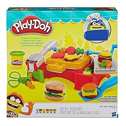 Amazon.com: Hasbro - Play-Doh Cookout Creations by Hasbro ...