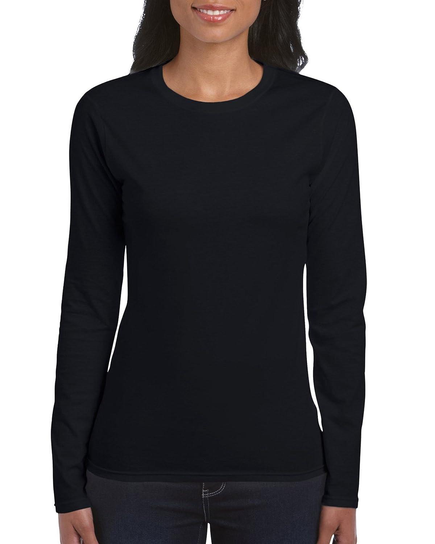 Gildan Womens Standard Softstyle Long Sleeve T-Shirt, 2-Pack