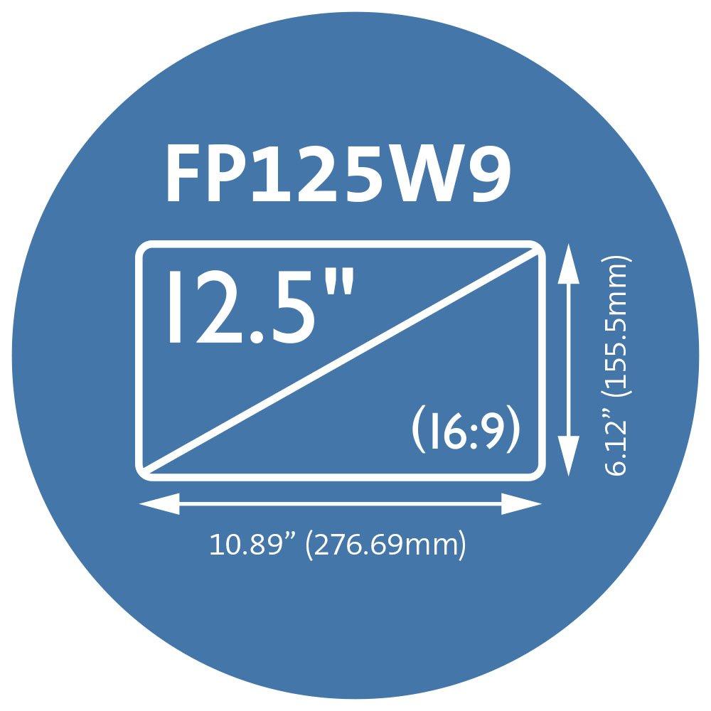 Kensington FP125W9 Privacy Screen for 12.5'' 16:9 Aspect Ratio Laptops (K52792WW) by Kensington (Image #4)
