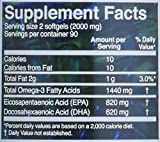 Omega 3 Fish Oil in Triglyceride Form - 180