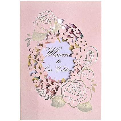 Amazon Com Creative Wedding Invitations Cards Kits Colored