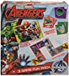Marvel Avengers 3 in 1 Activity Game Box - Puzzle, Floor Dominoes, Memory Match